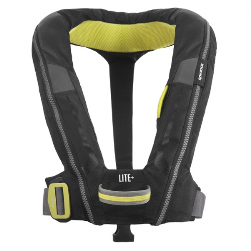 Spinlock Deckvest Lite+ Automatic with Harness Black